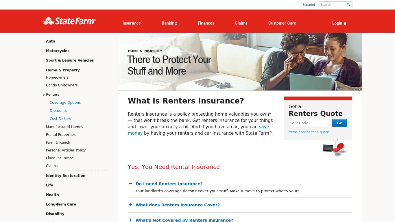 Best Renters Insurance Companies | Aggregated Expert Reviews